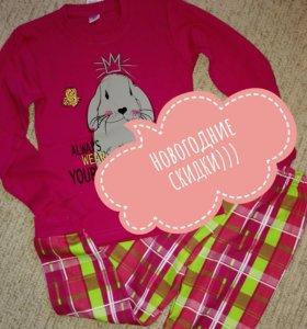 Новые пижамы девочки