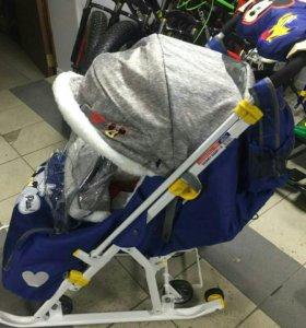 Санки-коляска Дисней Бэби 2