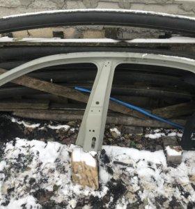 Стойка центральная левая для Volkswagen Polo Sedan