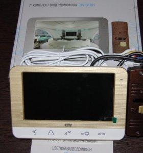 Комплект Видеодомофон CTV c вызывной панелью