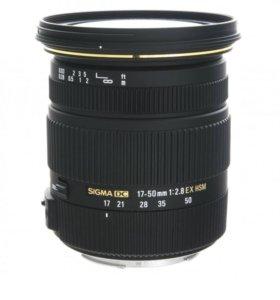 Sigma 17-55 2.8 для Canon