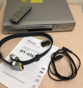 Проигрыватель дисков DVD Calgary DV-656A Pioneer
