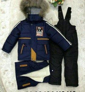 Комбинезон жилетка куртка новые