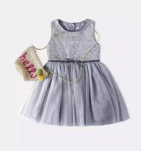 Новое нарядное платье 122-128р