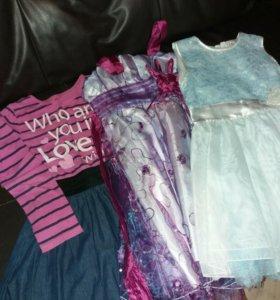 Платья на девочку пакетом
