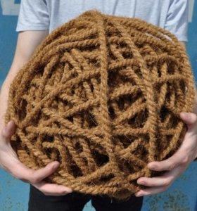 Кокосовая веревка 8 мм