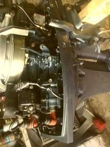 лодочный мотор Yamaha 9.9 на гарантии до конца 20