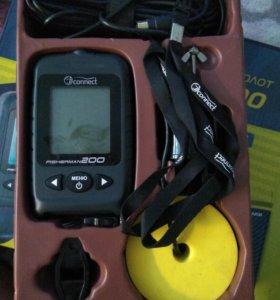 Эхолот JJ-Connect Fisherman 200 Ice Edition
