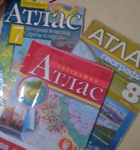 Атласы География 7-9