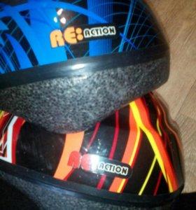 Шлем защитный детский регулируемый
