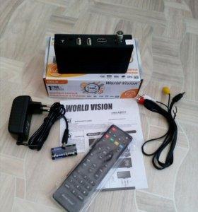 Цифровой ТВ приемник World Vision T64M