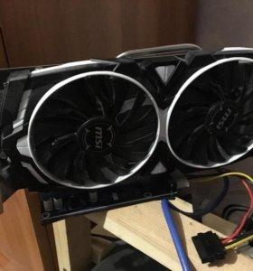 Видеокарта MSI GeForce GTX 1060 3GB ARMOR OC