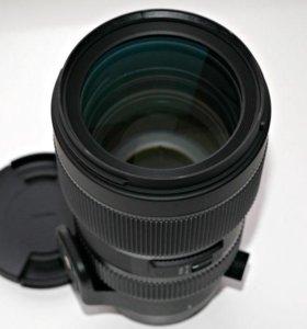 Новый объектив Sigma 50-100mm Canon EF