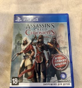 ASSASSINS CREED CHRONICLES на PS4