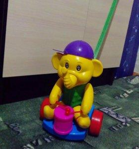 "Каталка ""слон с барабаном"""