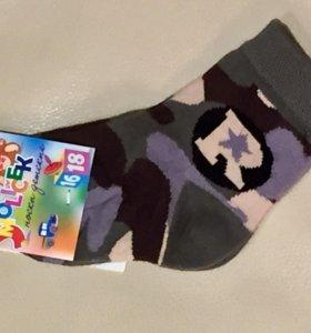 Новые носочки на 6-12 месяцев