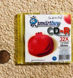 Диск CD-R Mini Мини Smartbuy Новый
