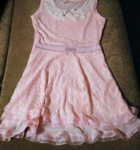 Платье для девочки, на 146-150