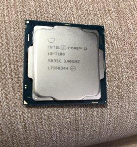 Процессор intel core i3 7100