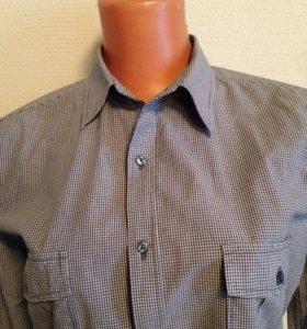 Рубашка мужская O'Stin. Хлопок