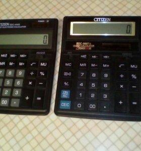 Калькулятор Citizen 12 знаков