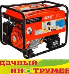 Генератор бензиновый Skat УГБ-7500Е/АВТО