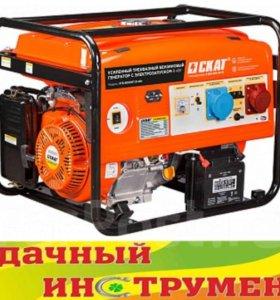 Генератор бензиновый Skat УГБ-8000ЕТ/8,0кВт