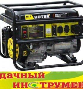 Генератор бензиновый Huter DY9500L,8 кВт