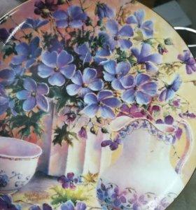 Веджвудский фарфор. Настенная тарелка