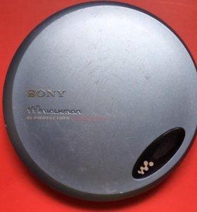 CD плеер Sony D-EJ775 Walkman (не рабочий)