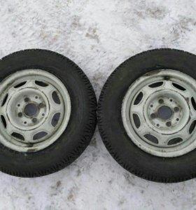 2 колеса 4*100 R13 175/70