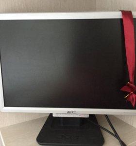 Монитор Acer AL1916W + системный блок