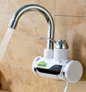 Проточный кран-водонагреватель с дисплеем