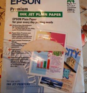 Бумага для цветной струйной печати