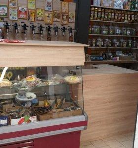 Магазин разливного пива + Чайный магазин