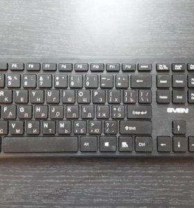 Клавиатура Sven Wireless Elegance 5800