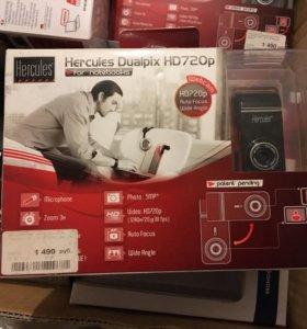Веб-камера Hercules Dualpix HD720p for Notebooks