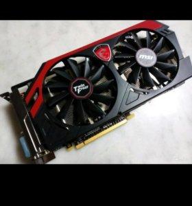 Видеокарта MSI GeForce GTX 760 Gaming 2Gb