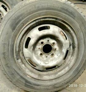 колеса на класику кама 175.70.R13
