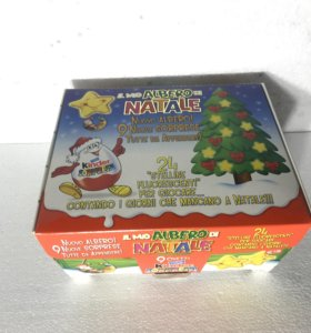 Рождественский набор Natale Италия Киндер Сюрприз