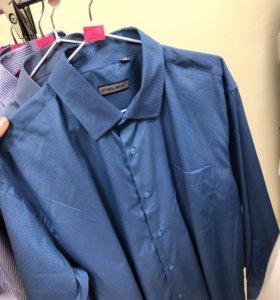 Мужские рубашки всех размеров в наличии