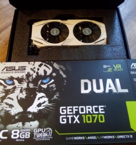 Asus GeForce GTX 1070 DUAL