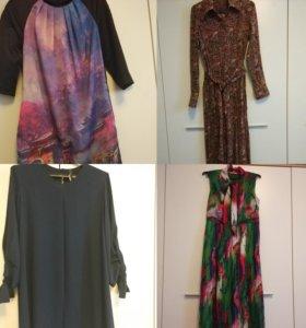 Платья, блузки, джемпер М