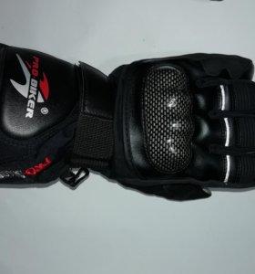 Теплые мотоперчатки Pro-Biker (новые)