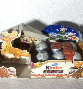 Новогодний набор Kinder Киндер Сюрприз