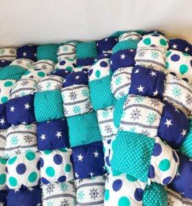 БомБон одеяло - коврик