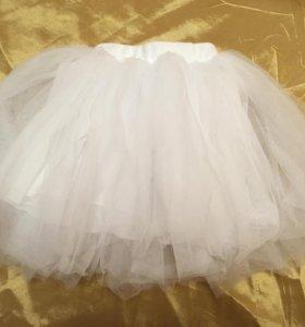 Балетная пышная юбка 1,5-2 года