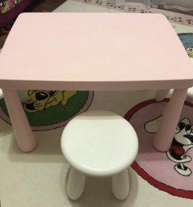 Стол+три стульчика «ИКЕА»