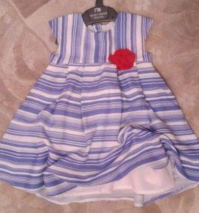 Нарядное платье Mothercare 74 размера