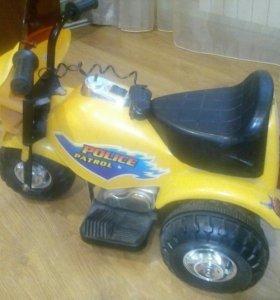Мотоцикл аккумуляторный детский